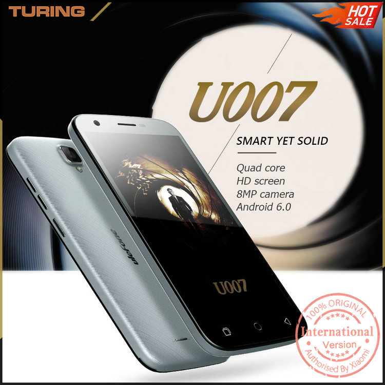 Taiwan Online Shopping Cell Phone Scrap 1GB RAM 8GB ROM 8MP Ulefone U007 Smartphone Mobile Phone