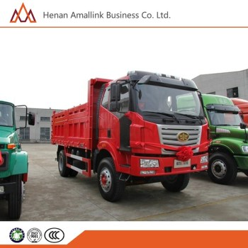 FAW 220hp 4x2 HOWO middle size 6740CC single bridge dump truck for sale