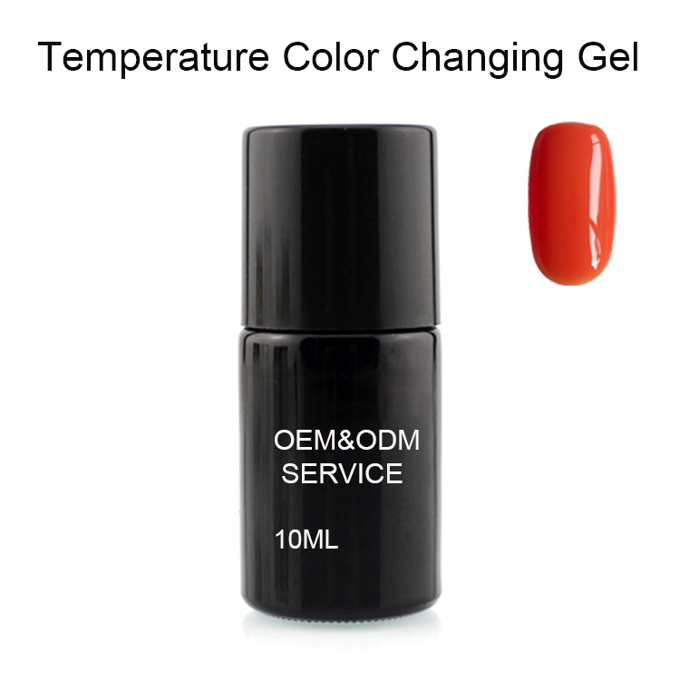 Professional Color changes LED Gel Polish for beauty salons