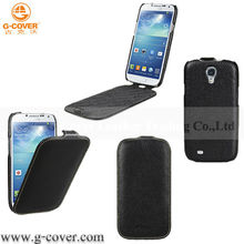 hot selling flip leather case for Samsung Galaxy S4 i9500