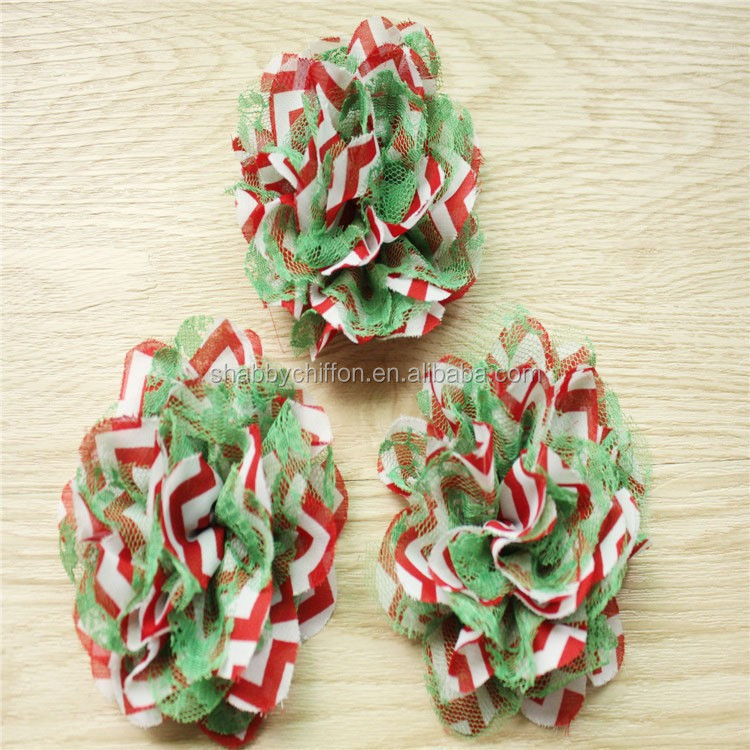 Last Day Discount ~Fashion Christmas lace flower in store hot sell
