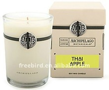 Thai Apple Scented Soy Candle