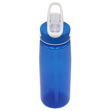 Wholesale PP Flip-up Easy-open Cap Hot Water Tritan Straw Plastic Bottle