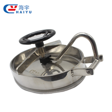 Sanitary Stainless steel Manhole Cover/sanitary tank manhole