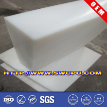 Extruded silicone rubber