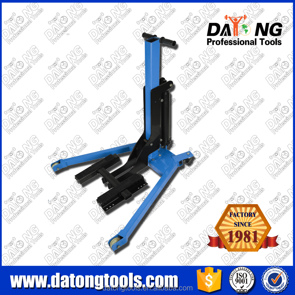500KG Motorcycle Sky Lift Both for Front wheel and Rear wheel