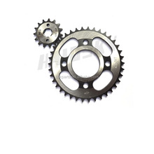 HAISSKY motorcycle parts spare china made motor parts motorcycle sprocket for honda wave 125