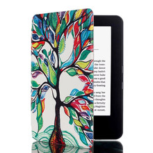 For amazon kindle 2016 Printing case stand leather tablet PC cover for kindle 558