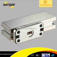 Aluminium Pivot Adjustable Hydraulic China glass door spring hinge concealed hinge