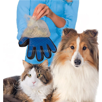 Silicone Pet Brush Glove Cleaning pet Bath Gloves
