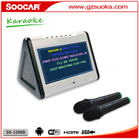 HDD KTV karaoke player with free 4TB MKV MPG chinese songs