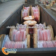 Road transportation from Shanghai to Ulan Bator by reefer containers