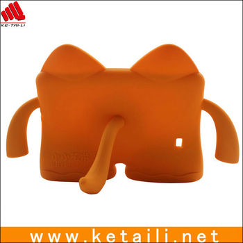 Newest cute silicone tablet PC cover for children
