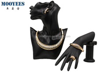 artificial set jewellery, african fashion gold plated jewelry sets high quality design