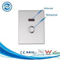 Stainless Steel Infrared And Manual Button Smart Sensor Toilet