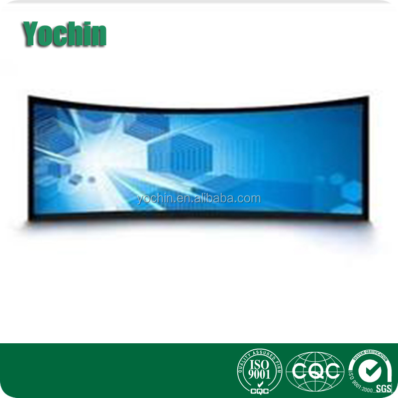 3D curved Fixed Frame Screen Projection screen