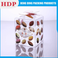 factory offer cheap transparent plastic box for gifts
