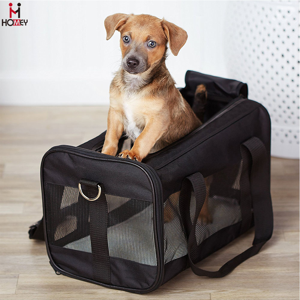 Fabric Fashion Large Pet Carriers for Dogs Carrier for Airplane Cabin