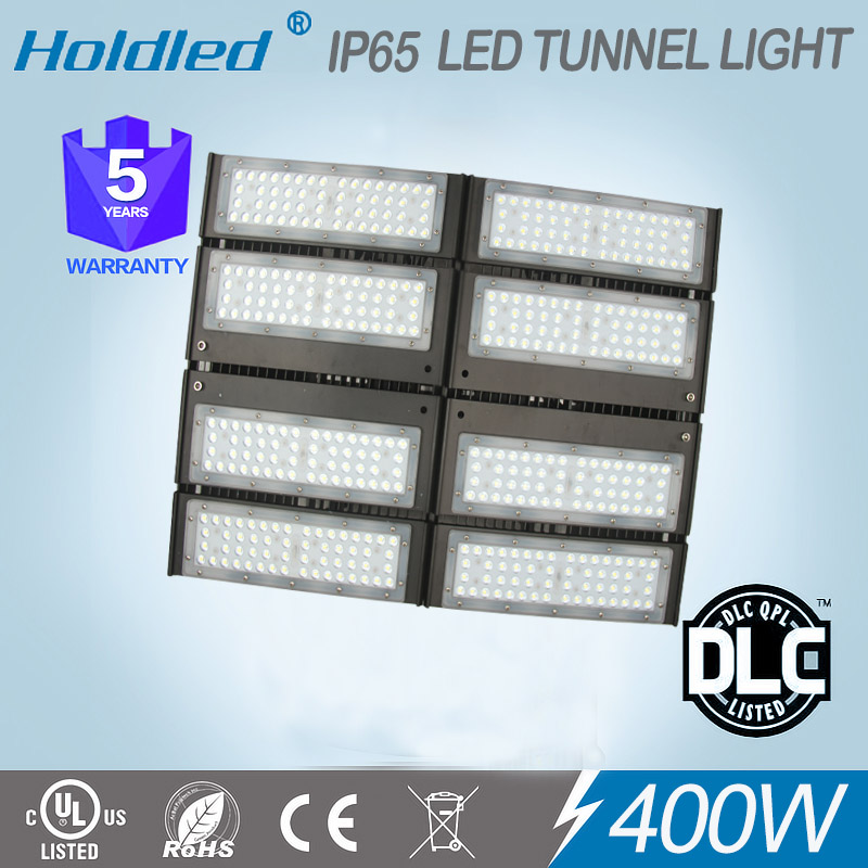 IP65 UL DLC 400W led tunnel flood light 5 Years warranty