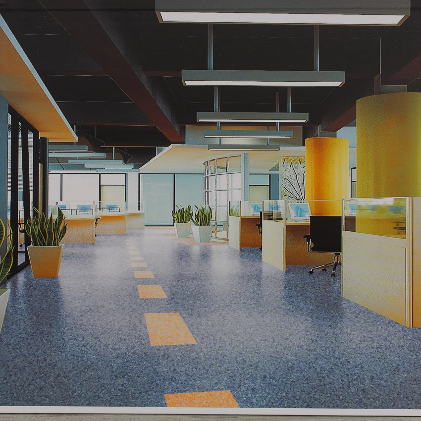 office library Usage Commercial Pvc Roll Vinyl Floor