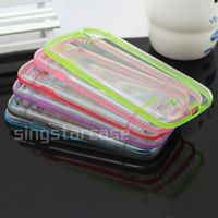 tpu+pc hard cover transparent clear phone case for samsung galaxy s3