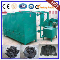 Responsible for overseas service charcoal making machine plant