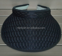 Hot sell terry cloth visor summer visor