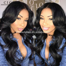 Human Virgin Hair Factory High Quality Best Price Large Stock 8-30 Inch body wave Brazilian Human Hair Full Lace Wigs