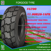 high quality Chinese low price mining truck tyres 11.00R20-18PR with good capability new design for sale