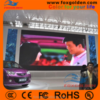 HD LED tv indoor advertising SMD full color small P6 led display screen borad