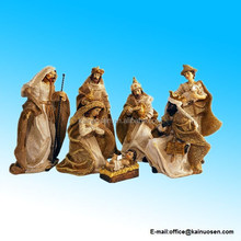 Christmas Nativity Scene, Set of 7 Rearrangeable Figures