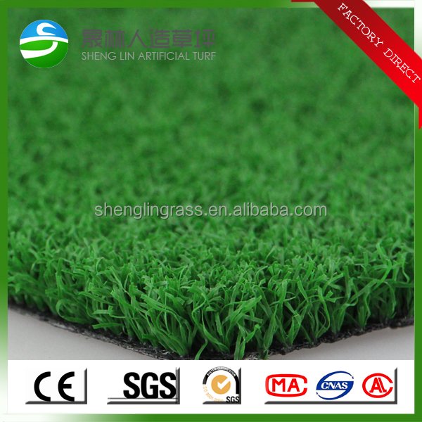 Cheap mini Golf / tennis/gateball/ basketball / volleyball flooring Artificial grass mat