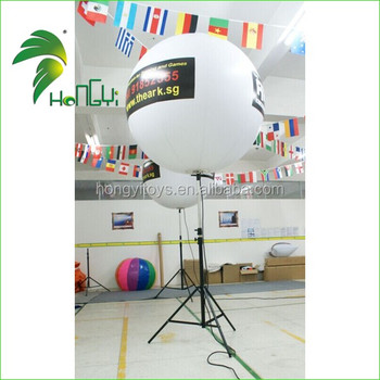 1.5m Inflatable Tripod Stand Light Balloon With LED Lighting For Sale