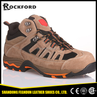 Flexing resistant industrial impact proof safety boots, work shoes FD4205