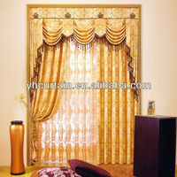 Elegant Printed Polyester Blackout Fabric curtain