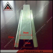 China metal building material steel hat channel