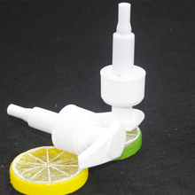 cosmetics plastic shampoo dispenser lotion pump for Pet bottle