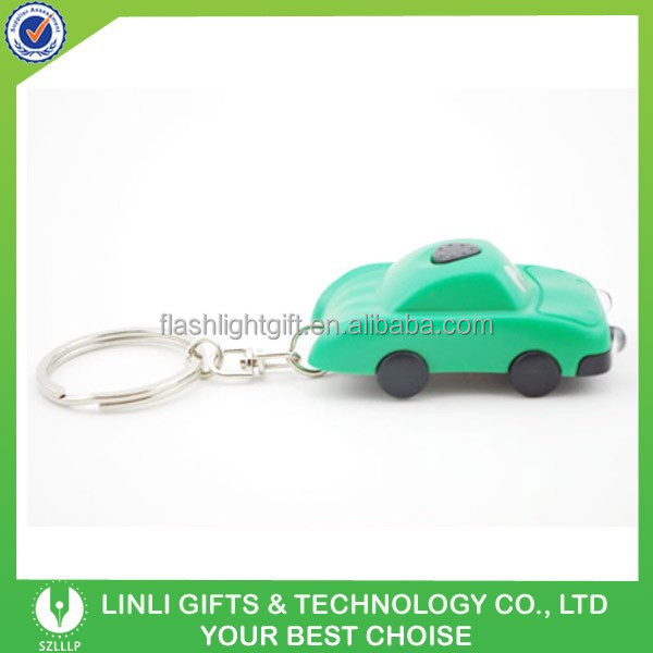 Advertisement Car Shape Solar Keychain,Car Shape Key Chain,Car Shape Key Holder