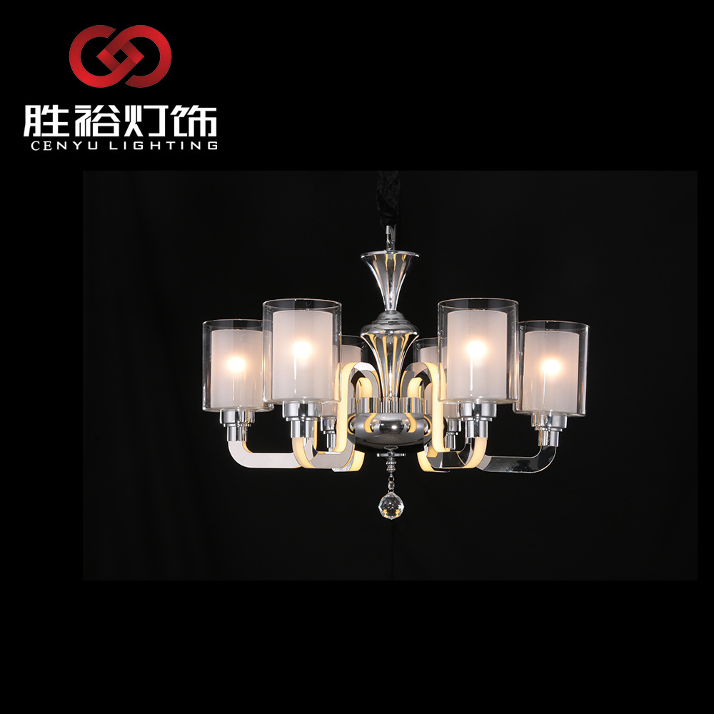 CENYU classic Copper flower european chandelier lamp wall light pendant light candle light