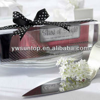"High Quality ""Slice of Style"" Stainless Steel High Heel Cake Server Wedding Gifts"