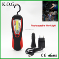 Portable Rechargeable Magnetic Work Light including car charger
