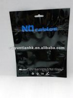 personalized topziplock underwear bag with euro slot