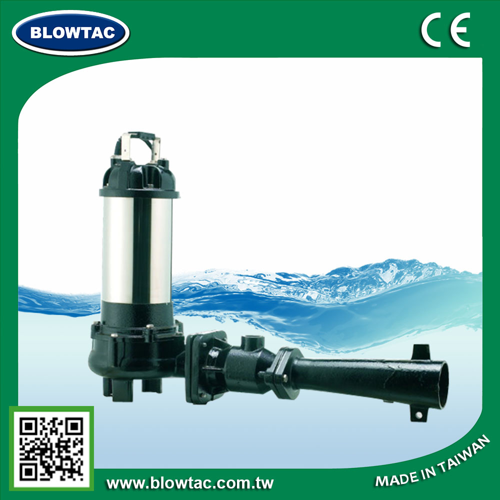 1 phase 7.5Hp 5.5Kw submersible water pump