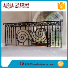 Yishujia factory Safety Wrought Iron Balcony Railing Yishujia Brand