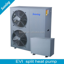 Water Electricity Separation Cold Area Air To Water Heat Pump