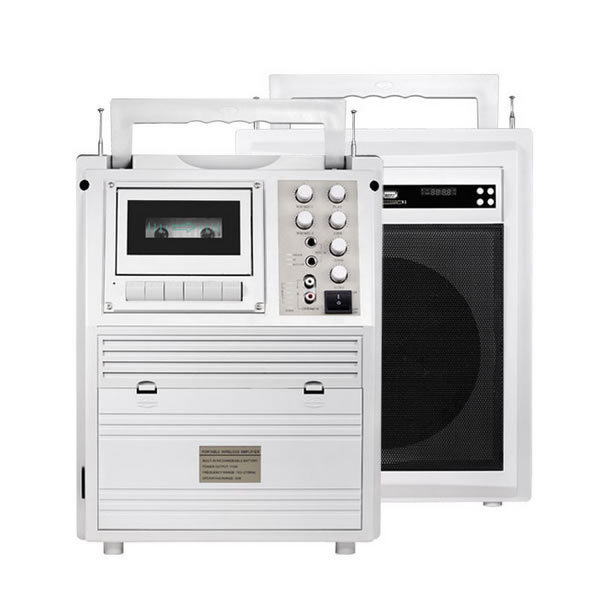 digital turntable with stereo system with built-in speakers mp3 walkman cassette player folding arm cassette awning