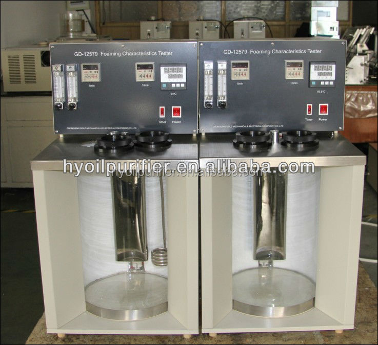 GD-12579 ASTM D892 Foam Tester Equipment for Foam Characteristics Test