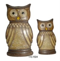 Classical Owl Table Accents