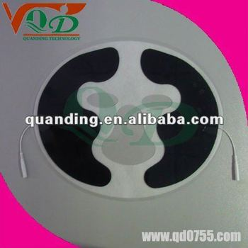 facial tens electrode pads for beauty