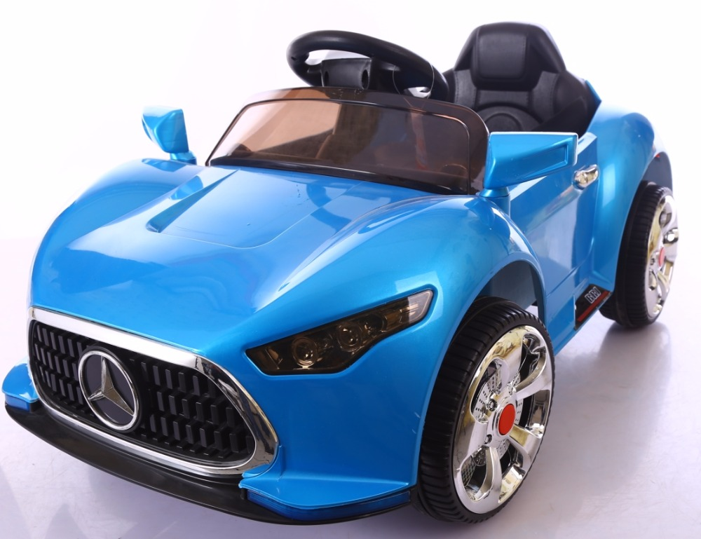 2016 New Model cheap price LED flashing wheel children electronic toy car, kids ride on electric cars toy for wholesale